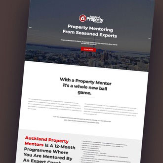 Auckland Property Mentors - On.Works Web Design Project
