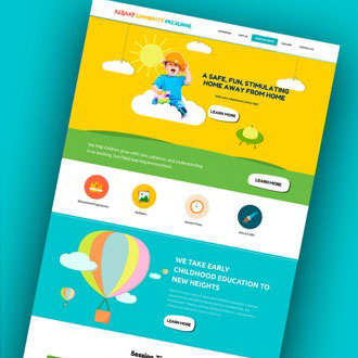 Albany PreSchool - On.Works Web Design Project