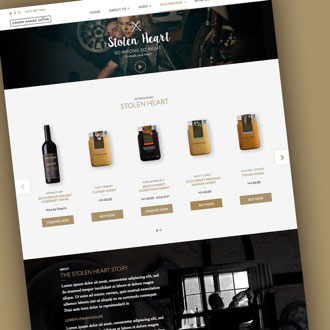 Crown Range Cellar - On.Works Web Design Project