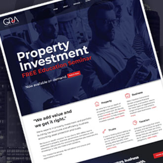 Gilligan Rowe & Associates - On.Works Web Design Project