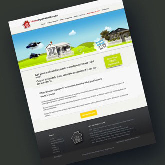 Home Appraisals - On.Works Web Design Project