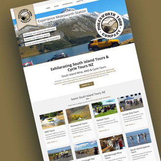 Molesworth Tours - On.Works Web Design Project