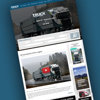NZ Truck and Driver - On.Works Web Design Project