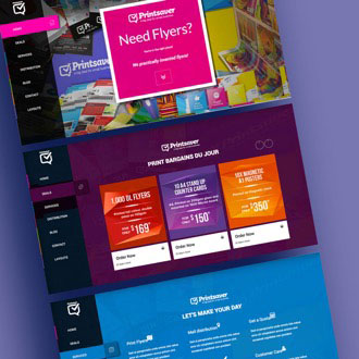 Print Saver - On.Works Web Design Project