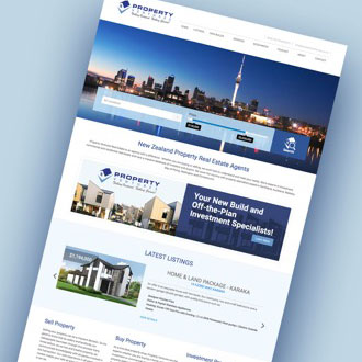 Property Ventures Real Estate - On.Works Web Design Project