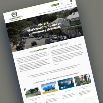 Warkworth Business Association - On.Works Web Design Project